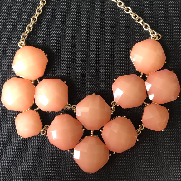 Francesca's Collections Jewelry - Pink Jeweled Necklace